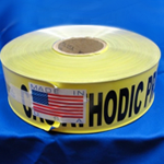 Detectable Cathodic Protection Burial Tape